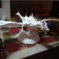 Small Dragon Skyrim 3D Printing 165342