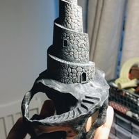 Small Twisted Tower 3D Printing 165362