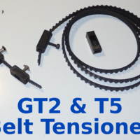Small Belt Tensioner - GT2 & T5 3D Printing 165418