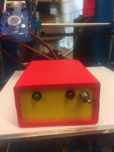 reprap  power relais box 3D Print 165572