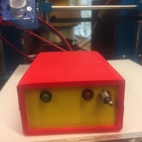 Small reprap  power relais box 3D Printing 165572