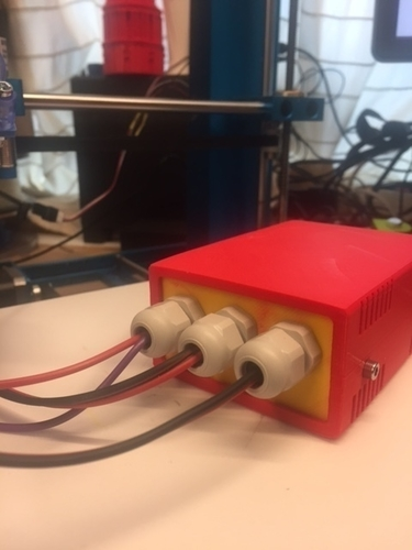 reprap  power relais box 3D Print 165575