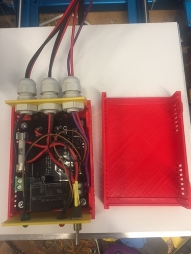 reprap  power relais box 3D Print 165576