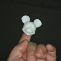 Small Fingerspop Mickey 3D Printing 165662