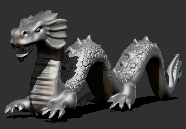 Chinese Dragon  3D Print 165946
