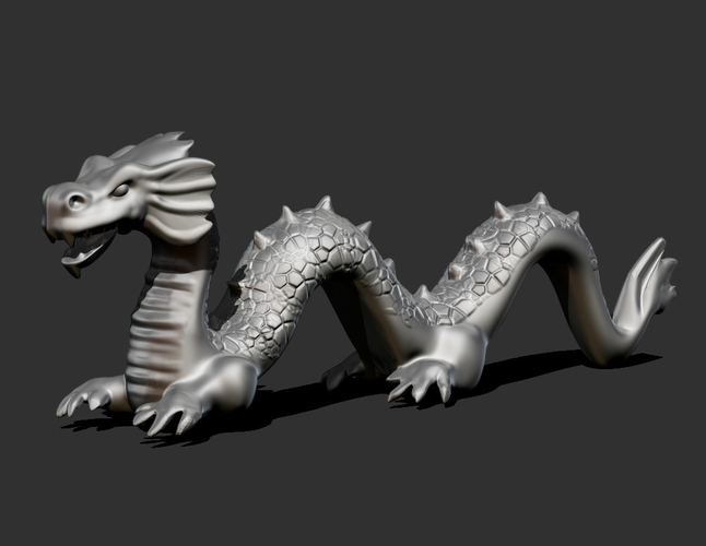 Chinese Dragon  3D Print 165947
