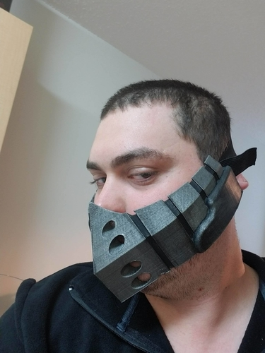 Deku's mask from Boku no Hero Academia 3D Print 165952