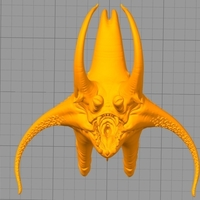 Small octopus monster 3D Printing 166008