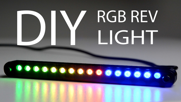 Medium RGB REV LIGHT CASE 3D Printing 166100