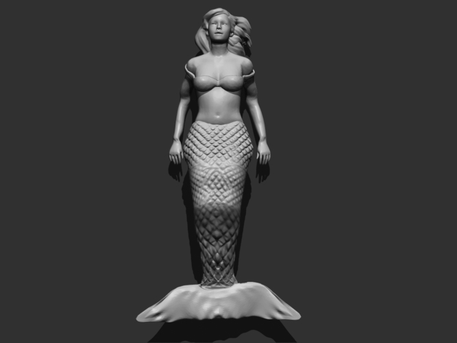 Mermaid 3D Print 166220