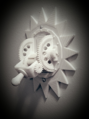 Steampunk Mechanical Light Switch 3D Print 166315