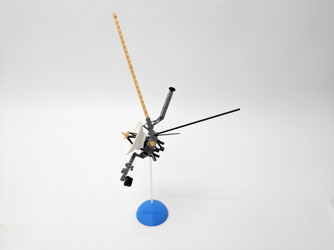 Voyager Satellite Desktop Model 3D Print 166340
