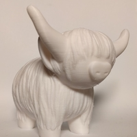 Small Highland Cow 3D Printing 166427