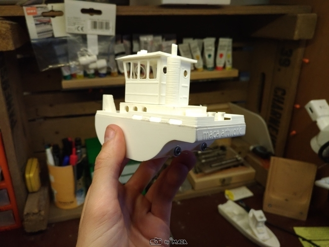 Scale RC micro tugboat Springer V3 by Maca-artwork 3D Print 166526