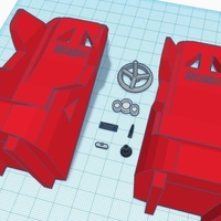 Small 1:10 Scale RC Interior and Seats 3D Printing 166537