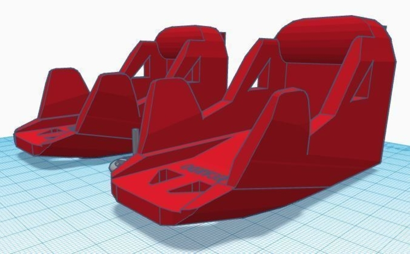 1:10 Scale RC Interior and Seats 3D Print 166538