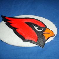 Small Cardinals football logo 3D Printing 166587