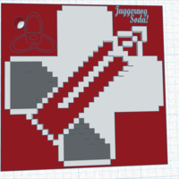 Small Juggernog Soda key chain 3D Printing 166624