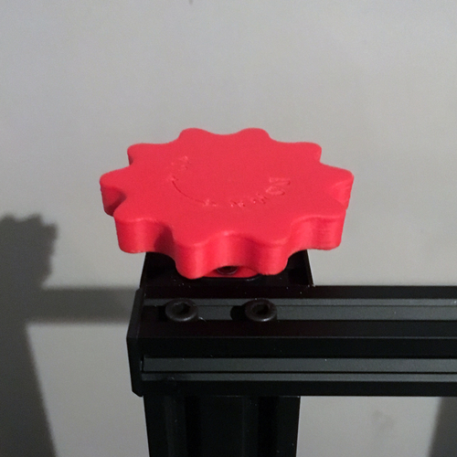 CR-10 Z-Axis Manual Adjustment Knob (Hictop, Tevo Tornado) 3D Print 166633