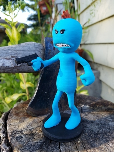 Rick and Morty assortment of Mr. Meeseeks 3D Print 166719