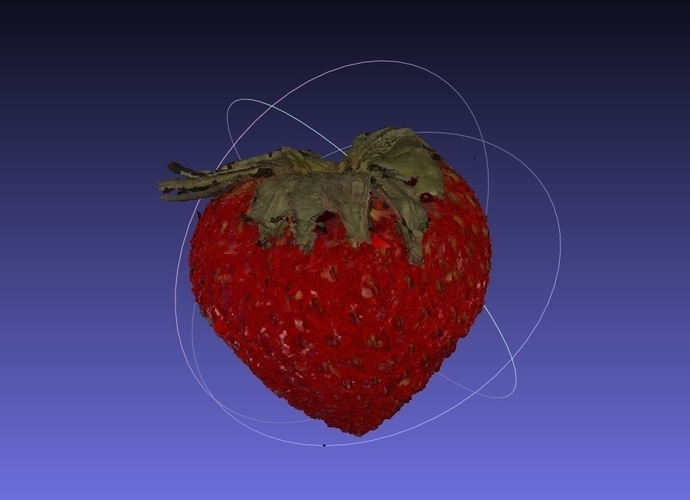 Strawberry NextEngine Scan - Fruits and Vegetables Edition 3D Print 166748