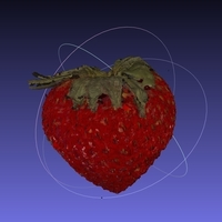 Small Strawberry NextEngine Scan - Fruits and Vegetables Edition 3D Printing 166748