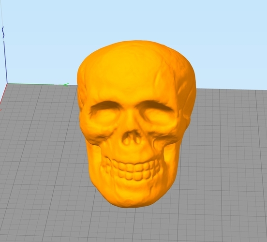 Small Halloween Skull Toy 3D Print 166782