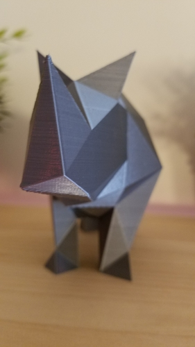 Low-Poly Rhino 3D Print 166808