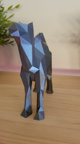 Low-Poly Camel 3D Print 166823