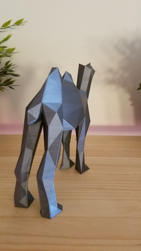 Low-Poly Camel 3D Print 166825