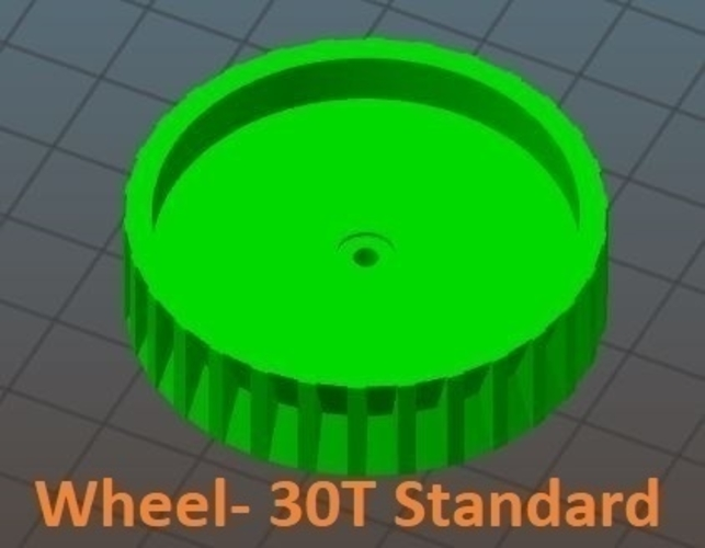 Wheels & Tires: SimpleSumo Expansions 3D Print 166886