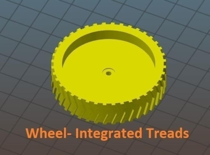 Wheels & Tires: SimpleSumo Expansions 3D Print 166889