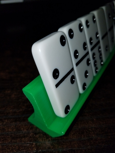 Dominoes Capicu Tray 3D Print 166946