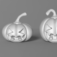 Small Halloween Pumpkin 3D Printing 166953