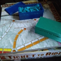 Small Ticket to Ride train box w/ Lid 3D Printing 167158