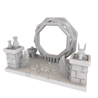 Small HG3D Egyptian Portal - 28mm 3D Printing 167463