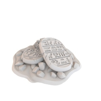 Small HG3D Stone Tablets - 28mm 3D Printing 167468
