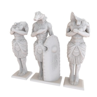 Small HG3D Egyptian Weathered Statues - 28mm 3D Printing 167470