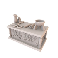 Small HG3D Egyptian Sem Altar - 28mm 3D Printing 167472