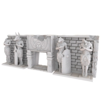 Small HG3D Egyptian Temple Entrance - 28mm 3D Printing 167477