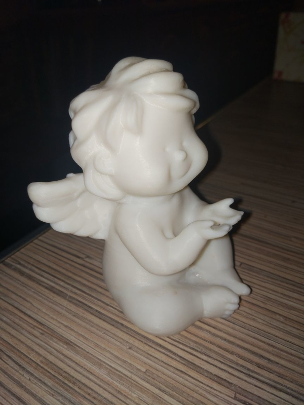 Medium Angel Statuette 3D Printing 167508