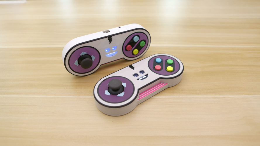 Joy The Gamepad Controller 3D Print 167536