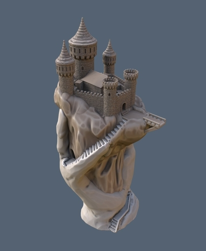Abode of the Hand 3D Print 167921