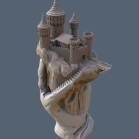 Small Abode of the Hand 3D Printing 167921