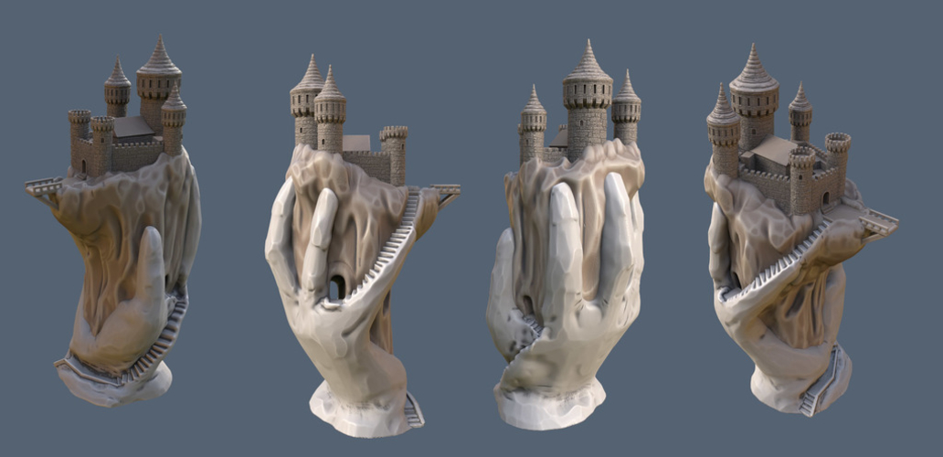 Abode of the Hand 3D Print 167923