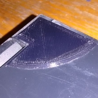 Small Laptop lid corner repair 3D Printing 168243