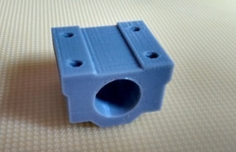 Linear Bearing holder IGUS compatible, updated! 3D Print 168283