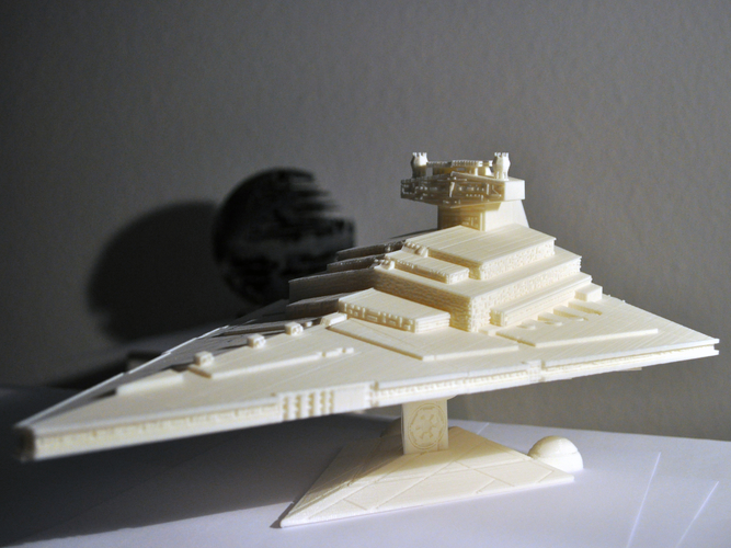 Imperial Cruiser - Star Destroyer (32cm) 3D Print 168522