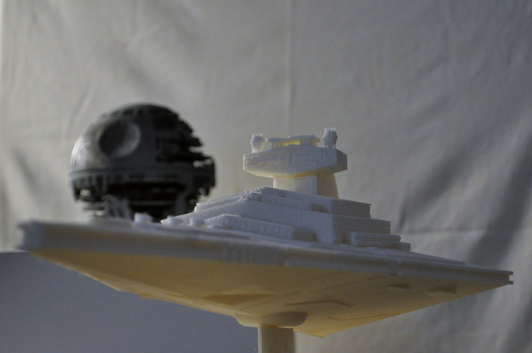 Imperial Cruiser - Star Destroyer (32cm) 3D Print 168523