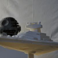 Small Imperial Cruiser - Star Destroyer (32cm) 3D Printing 168523